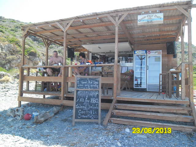 ΚΥΘΗΡΑ: Fourni Beach Seaside Bar